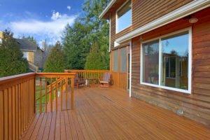 Backyard Deck Waunakee WI