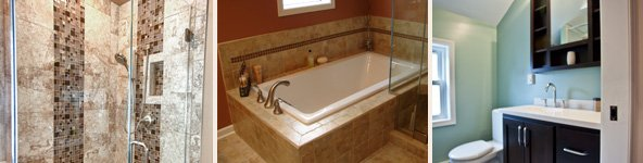 Frey Construction - Bathroom Remodeling Portfolio