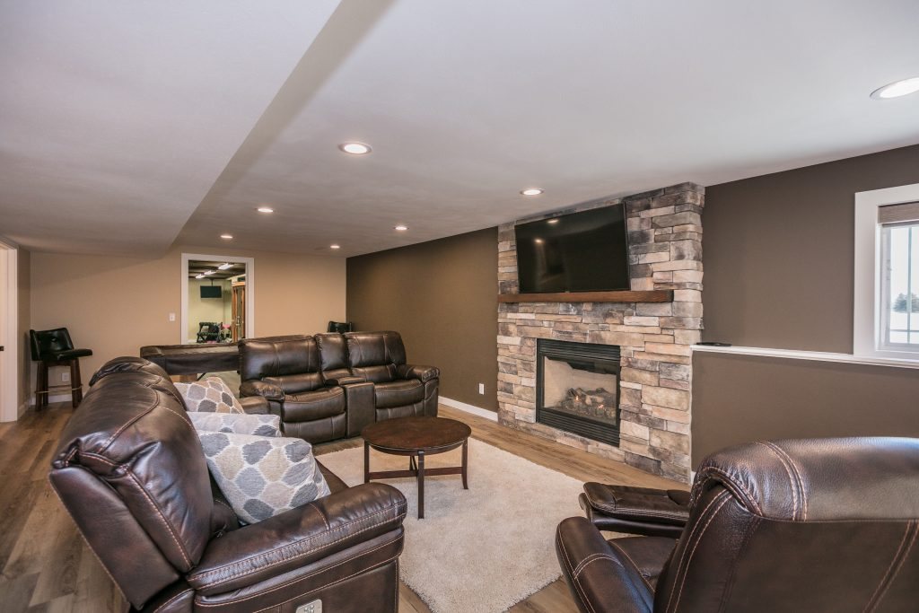 Basement Design Amp Remodel Deforest